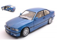 SOLIDO 1/18 BMW E36 COUPE M3 1990 BLU ESTORIL MODELLINO