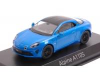 NOREV 1/43 ALPINE A110 S 2019 ALPINE BLUE MODELLINO