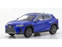 Kyosho 1/43 Lexus UX250H F Sport Heat blue contrast layering modellino