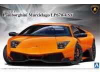 AOSHIMA 1/24 Lamborghini Murcielago LP670-4 SCATOLA DI MONTAGGIO