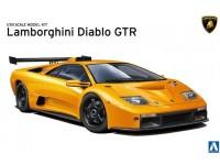 AOSHIMA 1/24 Lamborghini Diablo GTR SCATOLA DI MONTAGGIO