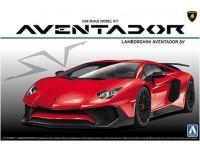 AOSHIMA 1/24 Lamborghini Aventador LP750-4 SCATOLA DI MONTAGGIO