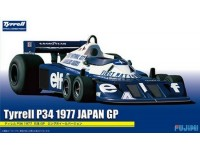 Fujimi 1/20 Tyrrell P34 GP Giappone 1977 kit di montaggio
