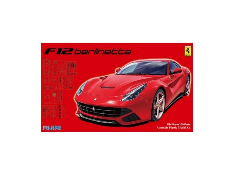Fujimi 1/24 Ferrari F12 Deluxe kit di montaggio