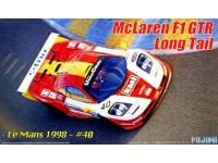 Fujimi 1/24 McLaren F1 GTR Le Mans 1998 kit di montaggio