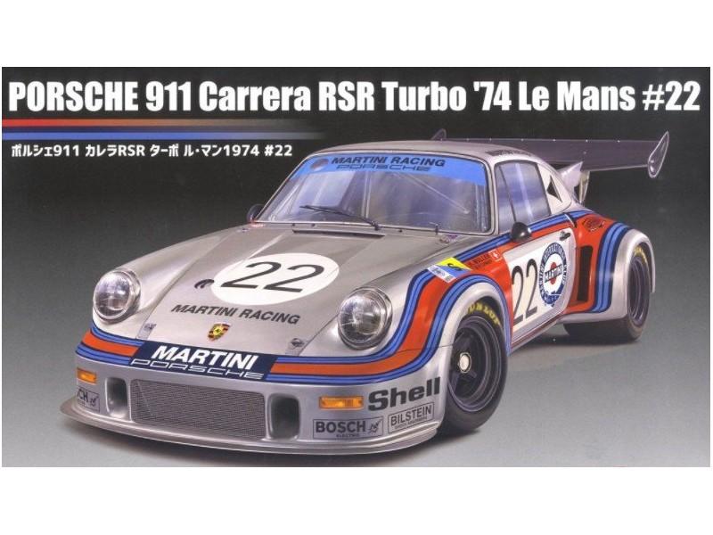 Fujimi 1/24 Porsche 911 Carrera RSR Turbo Le Mans 74 kit di montaggio
