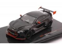 IXO MODELS 1/43 ASTON MARTIN VANTAGE GT12 2015 BLACK MODEL