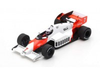 SPARK MODEL 1/43 MCLAREN MP4-2 ALAN PROST N.7 GP GERMANIA 1984 MODELLINO