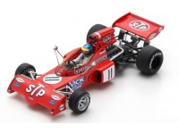SPARK MODEL 1/43 MARCH 721X N.11 RONNIE PETERSON GP BELGIO 1972 MODELLINO