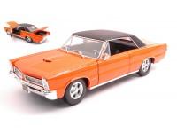 MAISTO 1/18 PONTIAC GTO HURST 1965 ORANGE MODELLINO