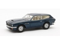 Matrix Scale Models 1/43 Aston Martin V8 Vantage Shooting Brake blu modellino