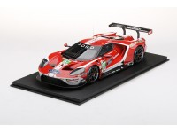 TOPSPEED 1/18 FORD GT N.67 LM GTE-PRO 24 ORE LE MANS 2019 MODELLINO