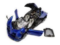 LCD MODELS 1/18 PAGANI HUAYRA ROADSTER BLUE MODELLINO