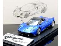 LCD MODELS 1/43 PAGANI HUAYRA ROADSTER BLUE MODELLINO
