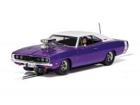 Scalextric 1/32 Dodge Charger R/T Purple Modellino Slot Car