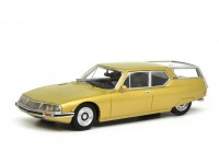 SCHUCO 1/18 CITROEN SM SHOOTING BRAKE COLOR ORO MODELLINO