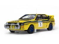 Sun Star 1/18 Audi Quattro A2 n.1 Hong Kong Beijing Rally 1985 modellino apribile