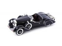 AUTOCULT 1/43 MERCEDES-BENZ 290 ROADSTER AMILCAR 1933 NERA MODELLINO