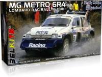 Belkits 1/24 MG Metro 6R4 Lombard RAC Rally 1986 kit di montaggio